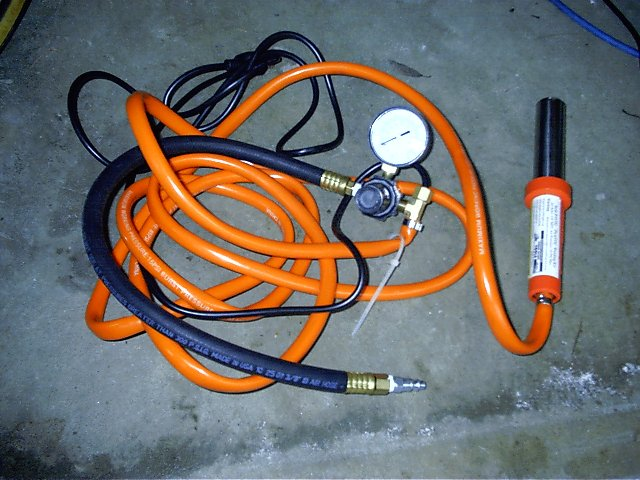 Equipment needed for plastic welding